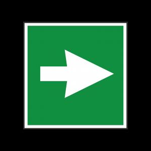 First Aid Arrow Symbol Sign