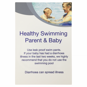 Healthy Swimming Parent & Baby Notice