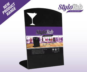 CSL03208 - cocktail bar table message board
