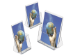 Pack of 6 - Acrylic Freestanding Leaflet / Brochure Dispensers - Saving of 10%