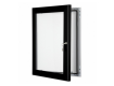 Black Lockable Poster Display Cases / Menu Display Cases