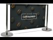 Deluxe Café Barrier 1500mm Full Kit