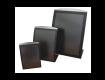Black Stainless Steel Freestanding Poster Holder
