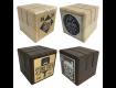 Personalised Wooden Block Menu Holders