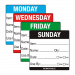 Tuesday Day Dot Food Labels - 50x50mm