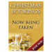 Christmas Booking Poster