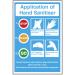 Hand Sanitiser Application Sign