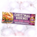 Personalised Christmas Bookings now being taken PVC Banners