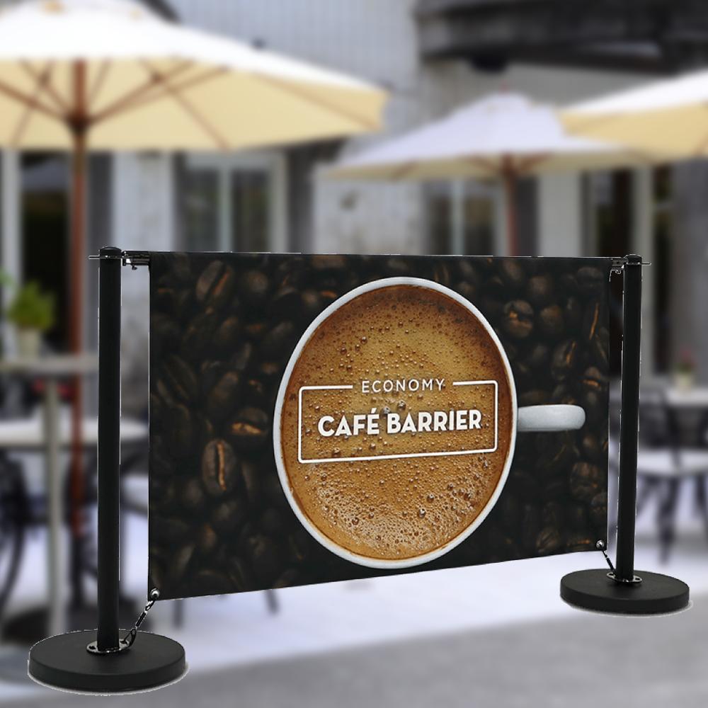 Cafe Barrier Black