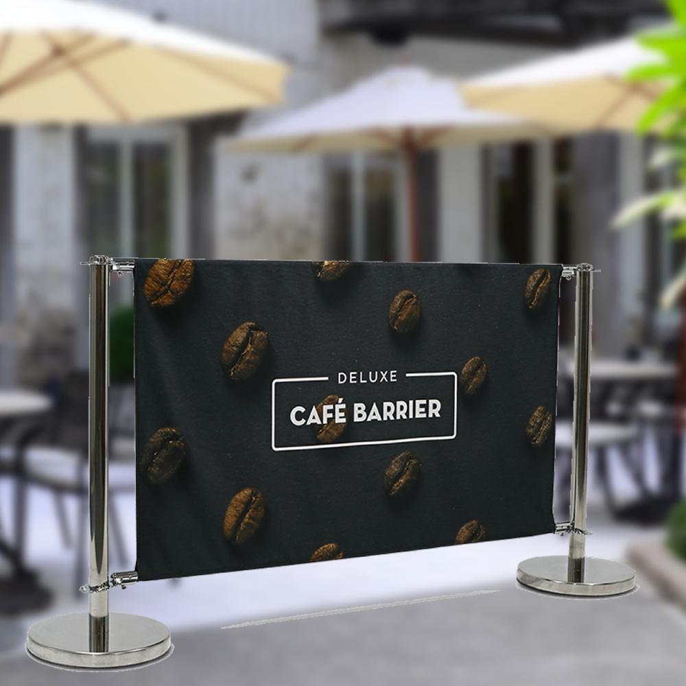 Cafe Barrier Chrome