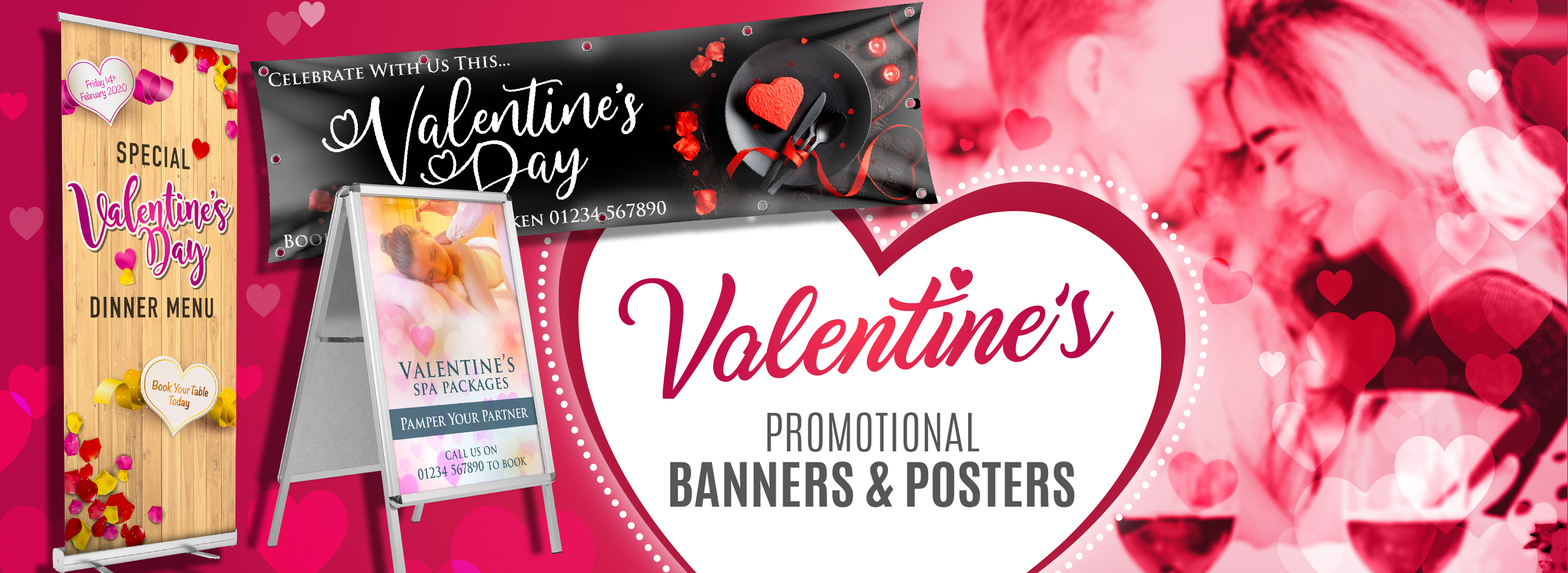 Valentines Day Promotional Material