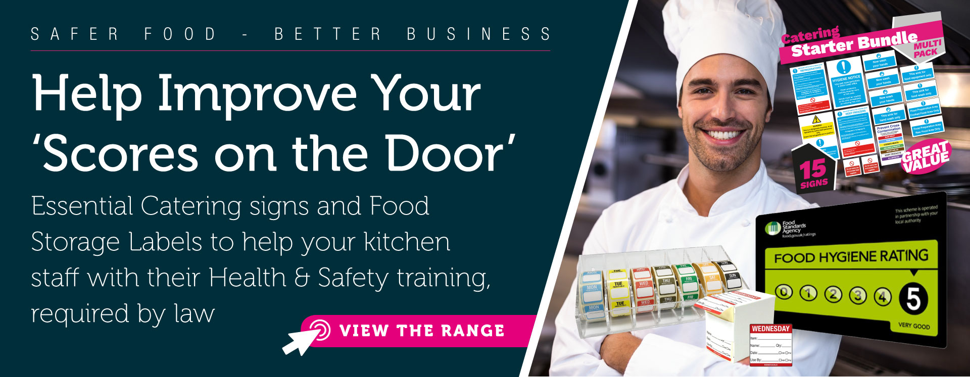 Essential Catering Safety Signs
