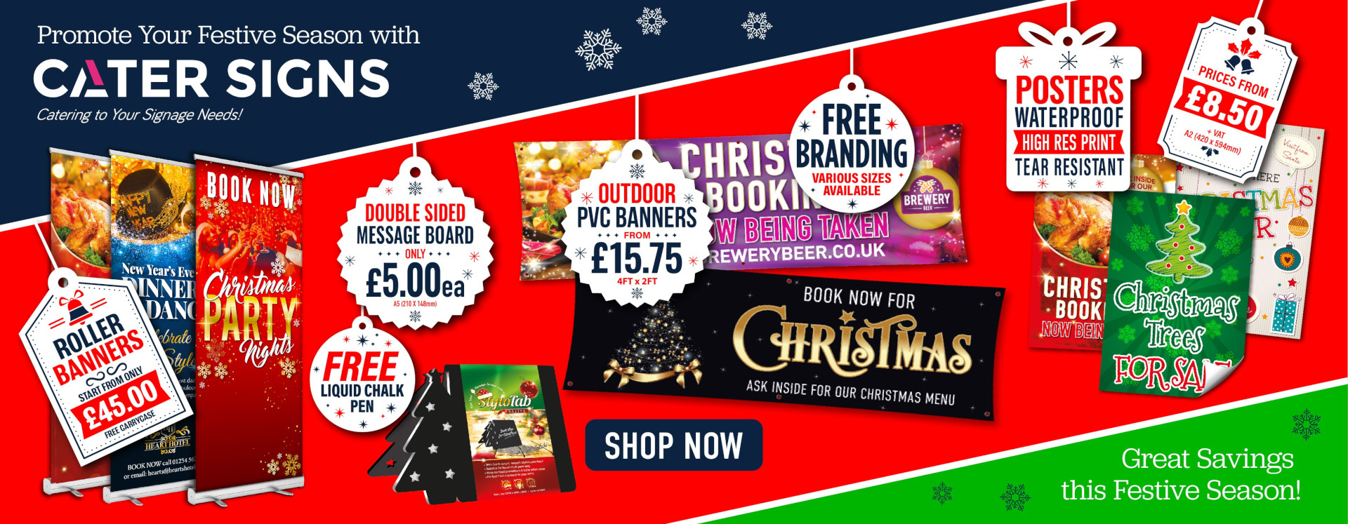 Christmas and New Year Product Range