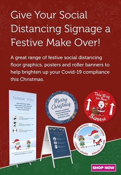 Christmas Covid Mobile banner