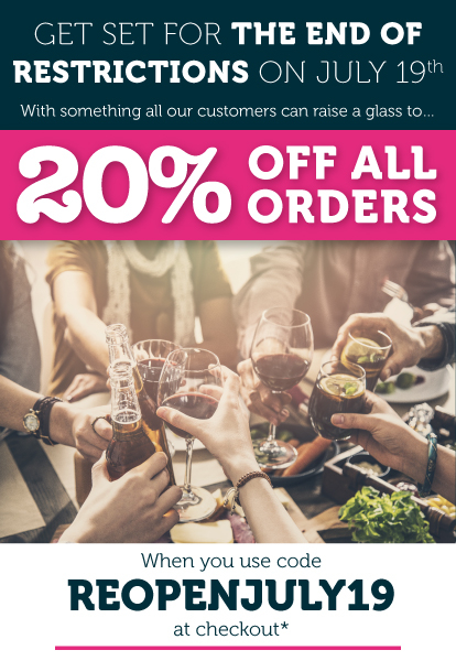 20% Off Everything Until July 31st 2021