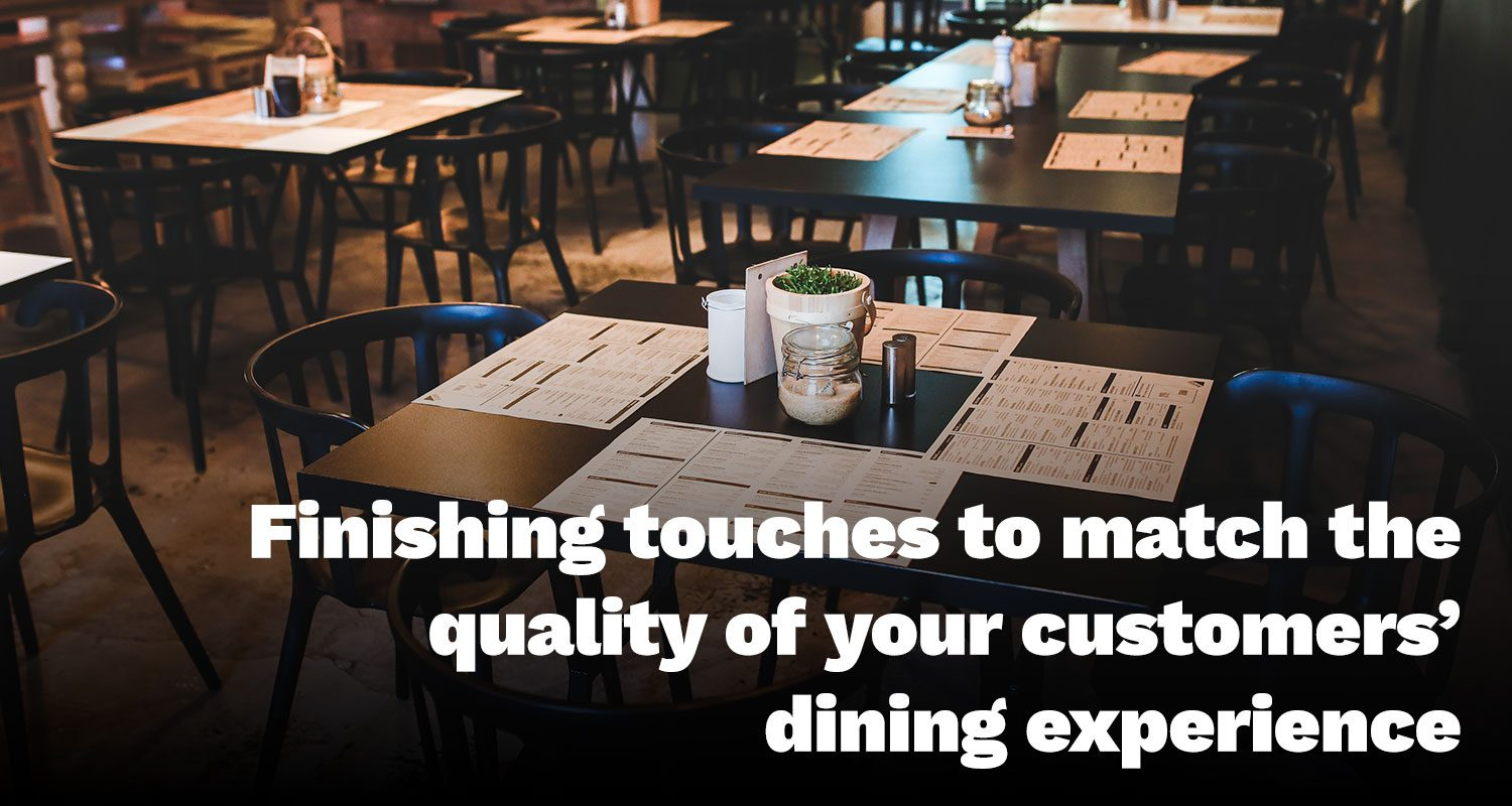 Boost Your Customers' Dining Experience