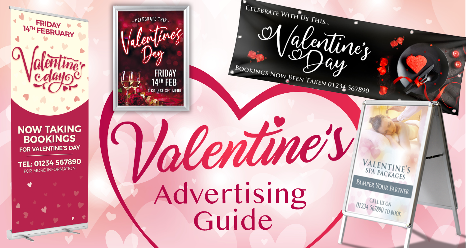 Promotional Valentines Banners & Posters