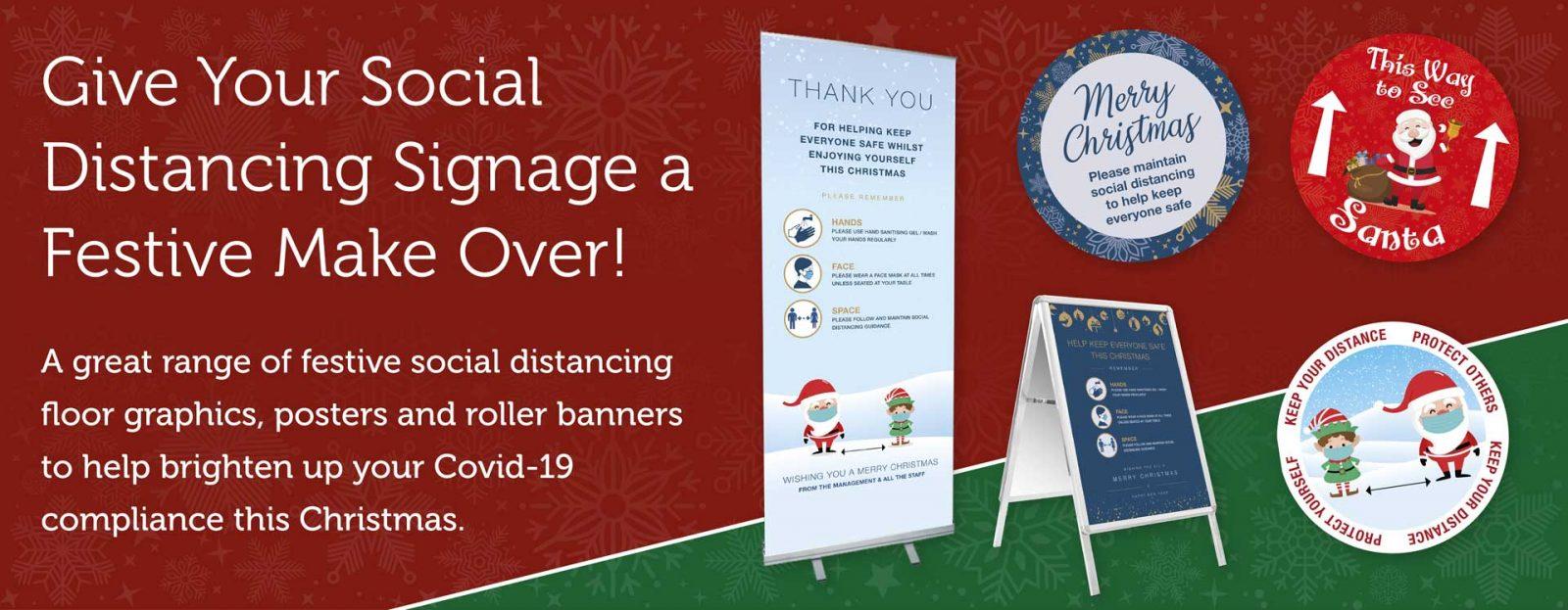 Festive Social Distancing Range