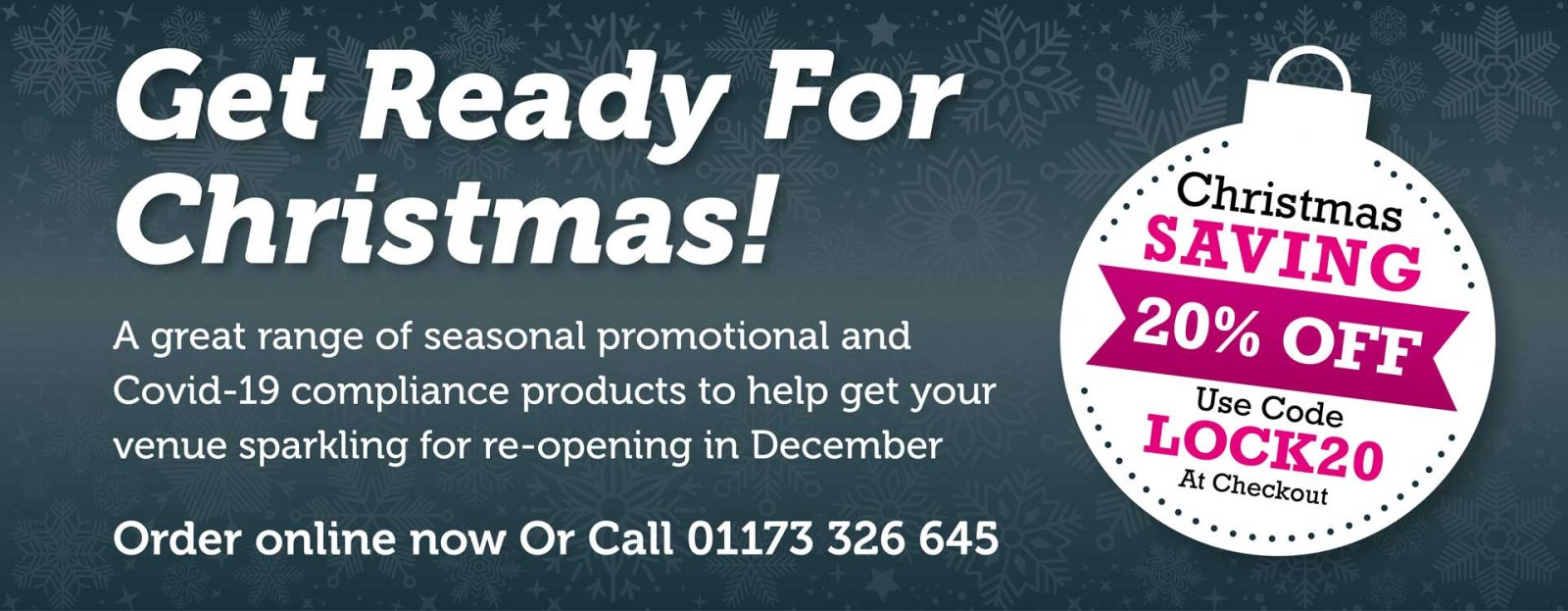 Helping You Get Ready For Christmas!